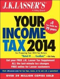 J. K. Lasser's Your Income Tax 2014 (English) (Paperback)