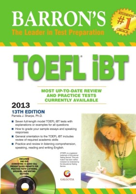 Barron's TOEFL iBT 2013 Guide (With DVD) (English) 13th Edition - Buy ...