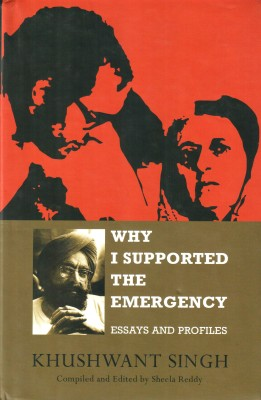 Why I Supported the Emergency : Essays and Profiles price comparison at Flipkart, Amazon, Crossword, Uread, Bookadda, Landmark, Homeshop18