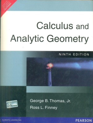 Calculus and Analytic Geometry 9th Edition price comparison at Flipkart, Amazon, Crossword, Uread, Bookadda, Landmark, Homeshop18
