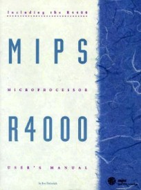 MIPS R4000 User*s Manual (English) Facsimile Edition (Paperback)