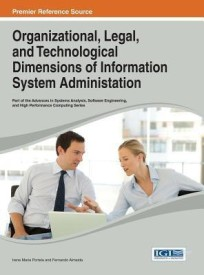 Organizational, Legal, and Technological Dimensions of Information System Administation (English) (Hardcover)