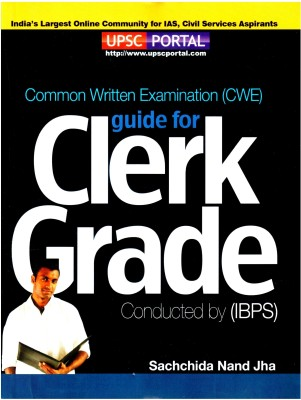IBPS: Common Written Examination (CWE) guide for Clerk Grade 1st Edition price comparison at Flipkart, Amazon, Crossword, Uread, Bookadda, Landmark, Homeshop18