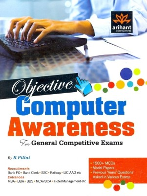 Buy Objective Computer Awareness: For General Competitive Exams (English) 1st Edition: Book