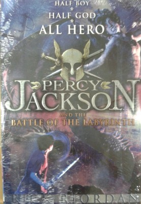 Buy The Percy Jackson and the Battle of the Labyrinth (Book - 4) by Rick Riordan-English-Penguin-Paperback_Edition-1st (English): Book