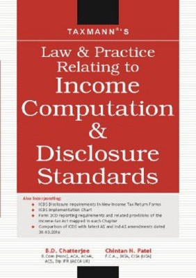 Income Computation and Disclosure Standards