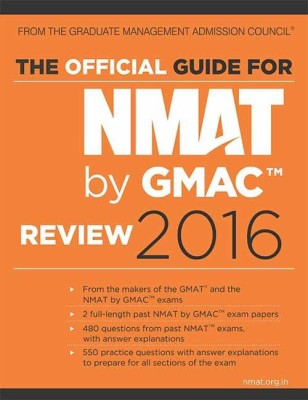 The Official Guide for NMAT by GMAC-Review 2016 price comparison at Flipkart, Amazon, Crossword, Uread, Bookadda, Landmark, Homeshop18