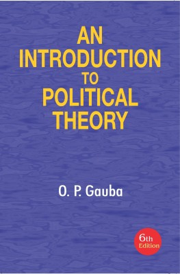 An Introduction to Political Theory 6 Edition price comparison at Flipkart, Amazon, Crossword, Uread, Bookadda, Landmark, Homeshop18
