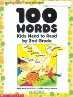 100 Words Kids Need to Read by 2nd Grade (English): Book