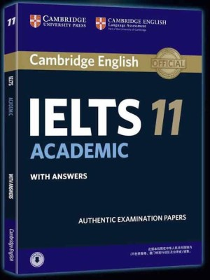 CAMBRIDGE ENGLISH IELTS 11-Academic with CD (ENGLISH) price comparison at Flipkart, Amazon, Crossword, Uread, Bookadda, Landmark, Homeshop18