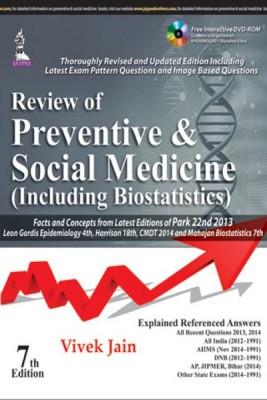 Review of Preventive & Social Medicine (Including Biostatistics) (With DVD) (English) 7th  Edition price comparison at Flipkart, Amazon, Crossword, Uread, Bookadda, Landmark, Homeshop18