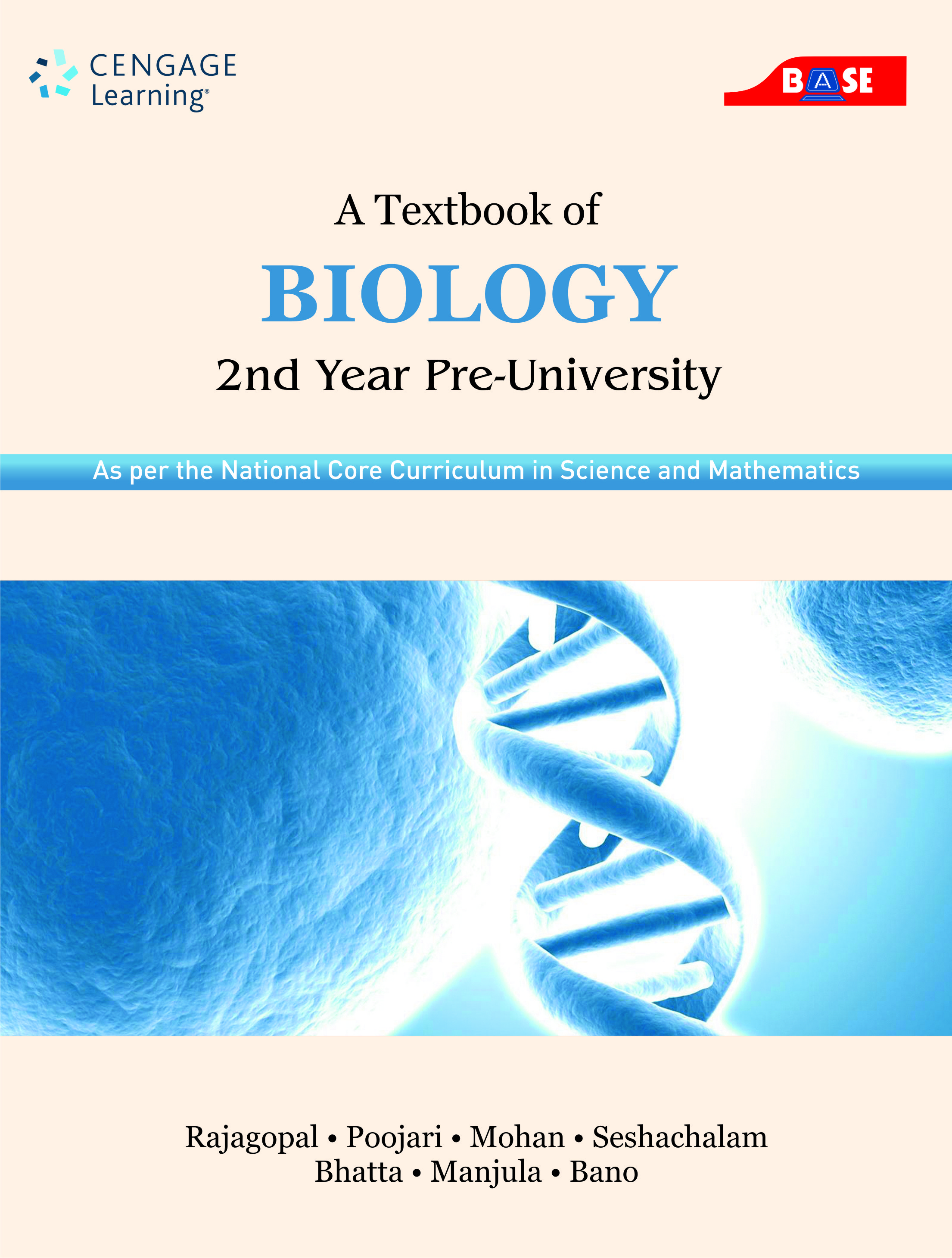a textbook of biology  as per the national core curriculum in science and mathematics  2 year