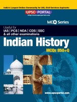 Indian History MCQs 850+Q Useful for IAS / PCS / NDA / CDS / SSC and All Other Examinations (English): Book