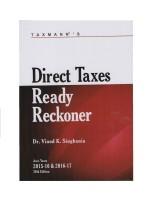 Taxmann's Direct Taxes Ready Reckoner Asst. Year 2015-16 & 2016-17 (English): Book