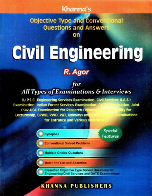 Buy Conventional & Objective Type Questions & Answers on Civil Engineering (English) 27thedition Edition: Book