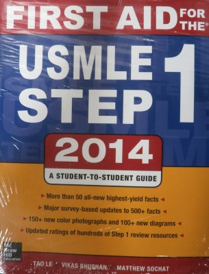 First Aid for the USMLE Step 1 2016 by Tao Le (2016, Paperback)