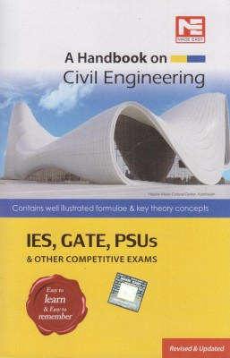 Handbook on Civil Engineering IES, GATE, PSUs & Other Competitive Exams price comparison at Flipkart, Amazon, Crossword, Uread, Bookadda, Landmark, Homeshop18