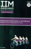 IIMA - Managers Who Make A Difference: Sharpening Your Management Skills (English): Book