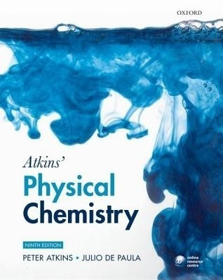 Buy Atkins' Physical Chemistry 0009 Edition (English) 9 Rev ed Edition: Book