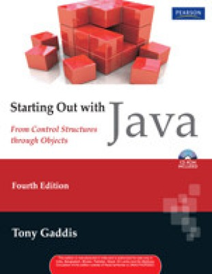 Buy Starting Out With Java : From Control Structures Through Objects (with Cd): Book