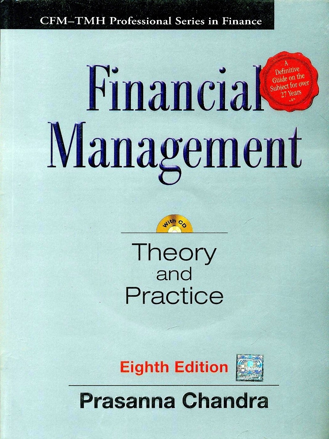 Financial Management Theory And Practice With Cd