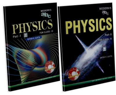Buy Modern's abc of Physics for Class - 11, Part - 1 & 2 (With CD) 19th  Edition: Book