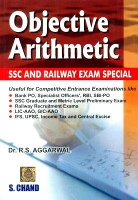 Objective Arithmetic : SSC and Railway Exam Special 1st Edition price comparison at Flipkart, Amazon, Crossword, Uread, Bookadda, Landmark, Homeshop18