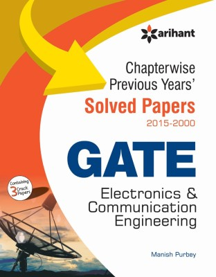 Chapterwise Previous Years' Solved Papers (2015-2000) GATE Electronics & Communication Engineering (English) 5 Edition price comparison at Flipkart, Amazon, Crossword, Uread, Bookadda, Landmark, Homeshop18