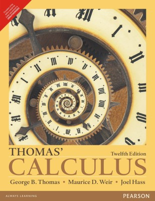 Thomas' Calculus (English) 12th  Edition price comparison at Flipkart, Amazon, Crossword, Uread, Bookadda, Landmark, Homeshop18