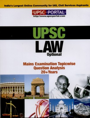 UPSC Law Optional : Mains Examination Topicwise Question Analysis 20 + Years available at Flipkart for Rs.143