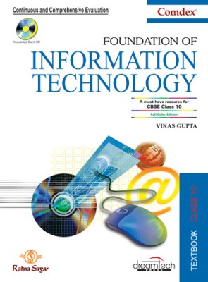 Buy Foundation of Information Technology For Class - 10 (With CD): Book