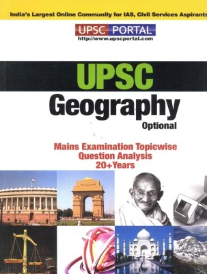 UPSC Geography Optional Mains Examination Topicwise question analysis 20 + Years available at Flipkart for Rs.99