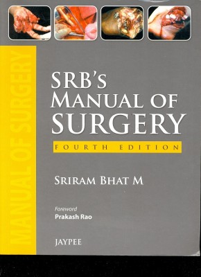 Buy SRB's Manual of Surgery 4th Edition: Book