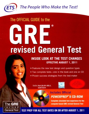 Buy The Official Guide to the GRE Revised General Test (With CD) (English) 1st Edition: Book