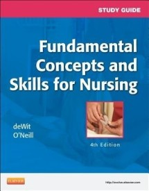 Study Guide for Fundamental Concepts and Skills for Nursing (English) 4th  Edition (Paperback)