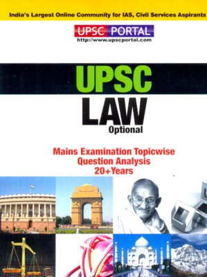 UPSC LAW Optional Mains Examination Topic Wise Question Analysis 20+ Years available at Flipkart for Rs.155