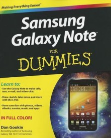 Samsung Galaxy Note For Dummies (English) (Paperback)