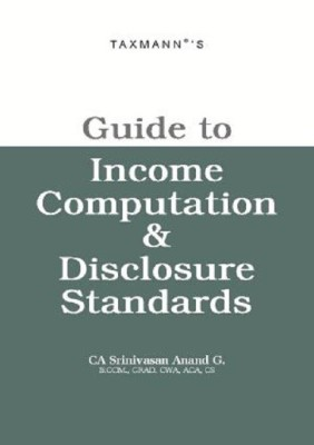 Book on Income Computation & Disclosure Standards -ICDS
