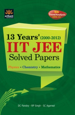 Buy IIT JEE Solved Papers (12 Years) 01 Edition: Book