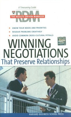 Buy Winning Negotiations That Preserve Relationships: The Results-Driven Manager Series (Paperback) illustrated edition Edition: Book