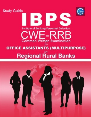 Buy Study Guide IBPS Institute of Banking Personnel Selection CWE-RRB Common Written Examination for Office Assistants (Multipurpose) in Regional Rural Banks (English): Book