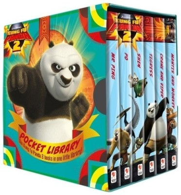 Buy Kung Fu Panda 2: Little Library (Set of 6 Books) (English): Book