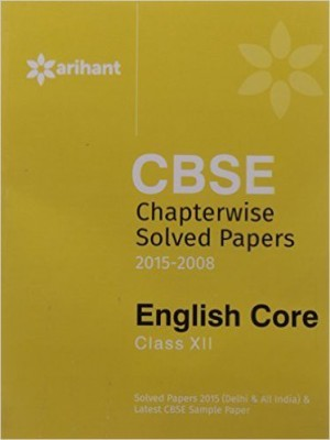 Cbse Chapterwise Solved Papers (English) price comparison at Flipkart, Amazon, Crossword, Uread, Bookadda, Landmark, Homeshop18