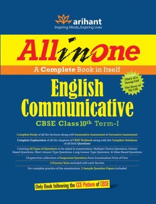 Buy All in One English Communicative CBSE Class 10th Term - I : A Complete Book in Itself 1st Edition: Book