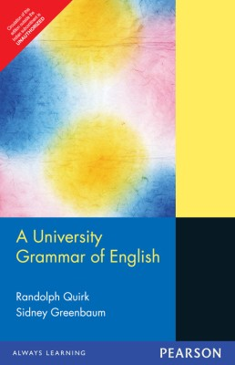 Buy A University Grammar of English (English) 1st Edition: Book