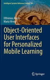 Object-Oriented User Interfaces for Personalized Mobile Learning (English) (Hardcover)