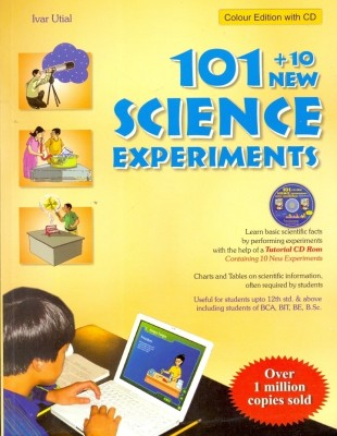 101+10 New Science Experiments (With CD) price comparison at Flipkart, Amazon, Crossword, Uread, Bookadda, Landmark, Homeshop18
