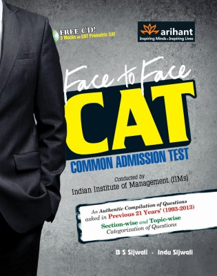 Face to Face CAT Common Admission Test (With CD) (English) 7th Edition price comparison at Flipkart, Amazon, Crossword, Uread, Bookadda, Landmark, Homeshop18