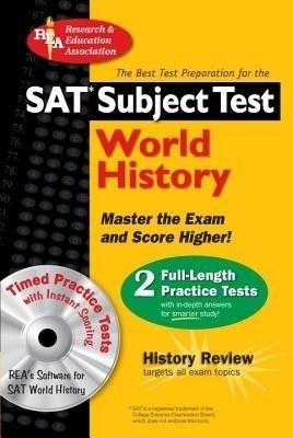SAT Subject Test: World History [With CDROM] price comparison at Flipkart, Amazon, Crossword, Uread, Bookadda, Landmark, Homeshop18