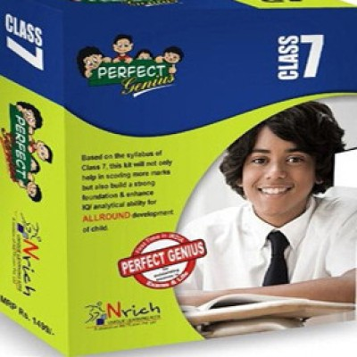 Buy Perfect Genius Class 7 for Olympiads, Science, Maths, Social, logic, English (English) 2nd Edition: Book